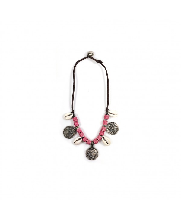 PINK NOMAD NECKLACE