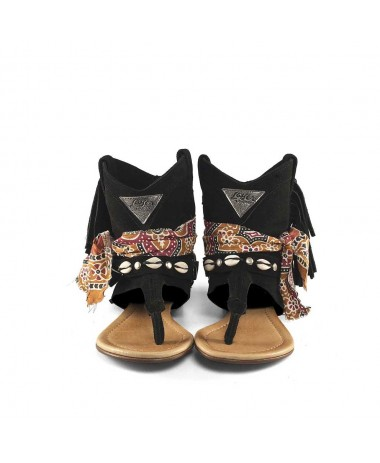 WEST SANDAL BLACK HIMBA