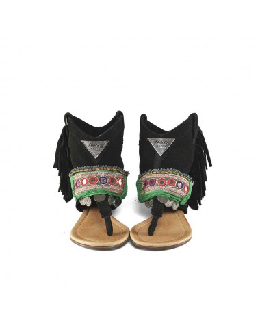 WEST SANDAL BLACK GYPSY