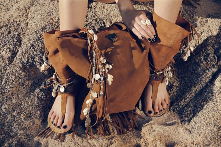 DESERT LAYER SANDALS