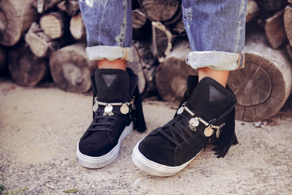 DARK SNEAKER DELHI LAYER BOOTS