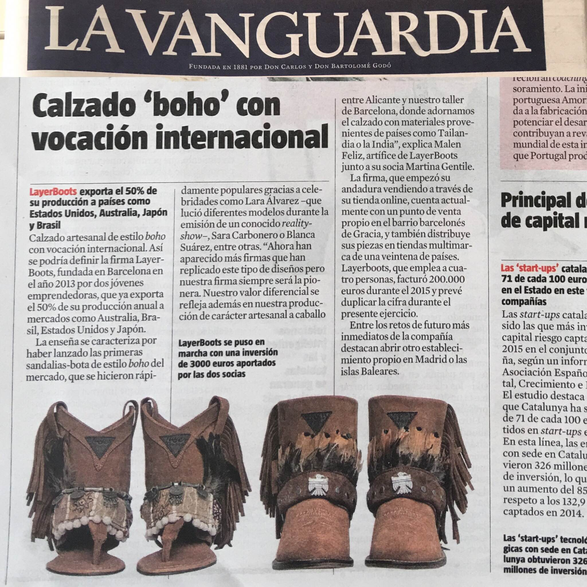 Layer Boots La Vanguardia