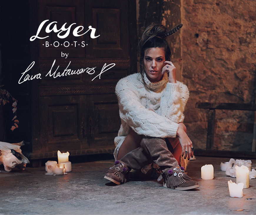 Layer Boots by Laura Matamoros